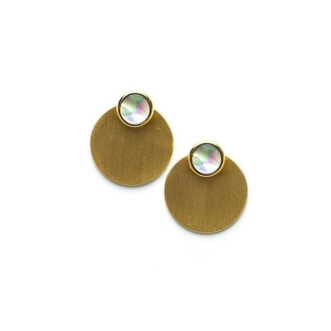 Disc-O Jacket Post Earrings