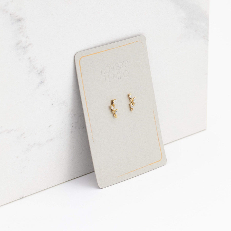 Olive Climber Earrings