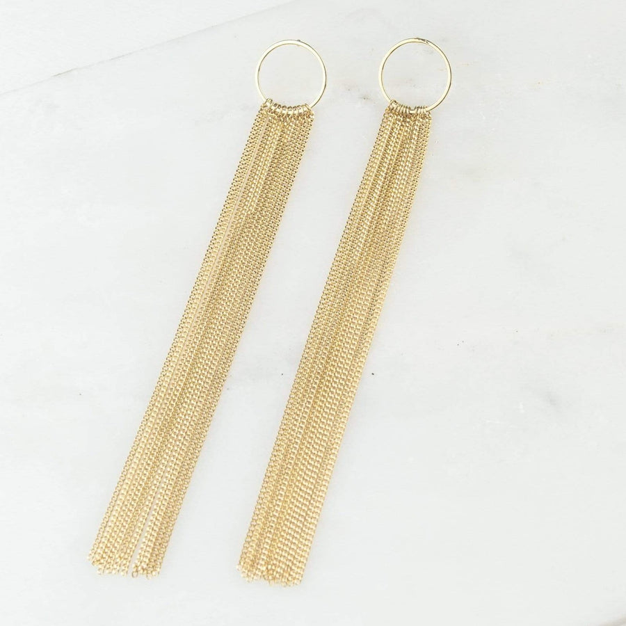 Gratzi Fringe Earrings