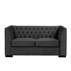 Chester 2 Seater Sofa Black