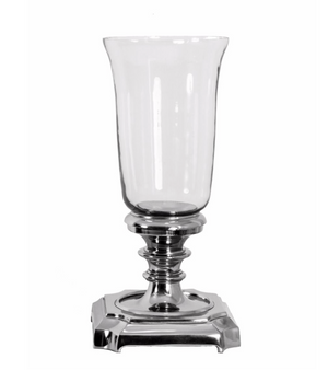 Nickel Turno Candle Holder