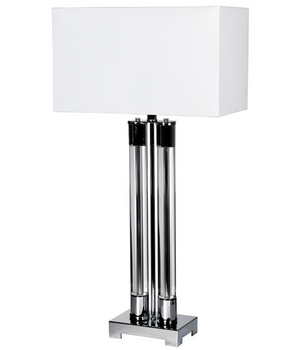 Crystal Columns Lamp