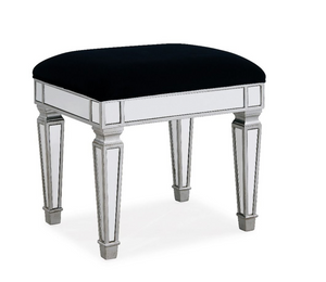 Sofia Mirrored Stool