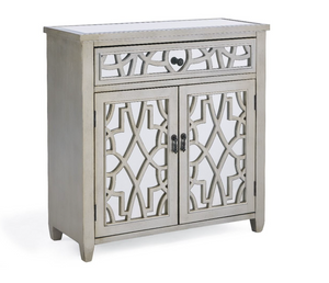 Juliet Champagne Mirrored 2/1 Chest