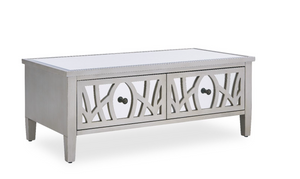 Juliet Champagne Mirrored Coffee Table