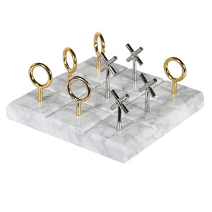 Marble Naughts & Crosses Ornament