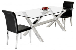X Rectangle Dining Table