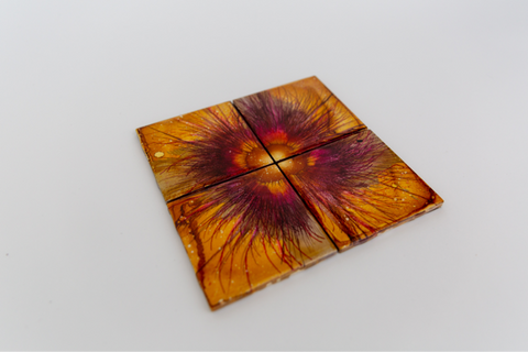 Honey coasters (set of 4)