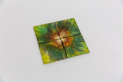Avocado Flower Coasters (set of 4)