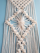 Load image into Gallery viewer, Macrame Table Runner - 3 Diamonds