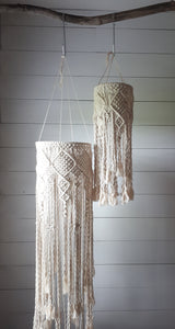Macrame Mobile 'diamonds'