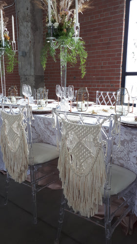 Macrame Chair Backings
