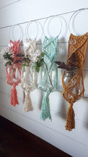Load image into Gallery viewer, Macrame Hoop Plant Hanger