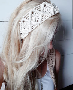 Macrame Headband - Adult