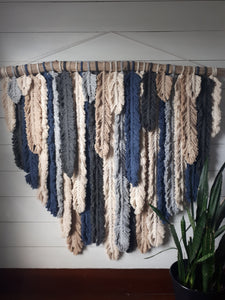 Macrame Feather Wall Hanging