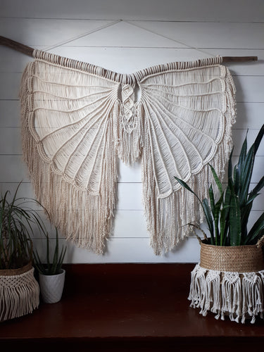 Macrame Angel Wings