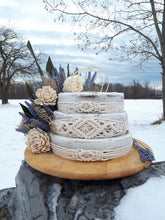 Load image into Gallery viewer, Macrame Cake Decor/Wraps