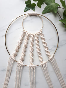 DIY Macrame Hoop Kit