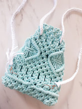 Load image into Gallery viewer, Macrame Backpack - Mini