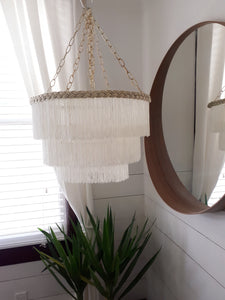 Fringe Chandelier Shade