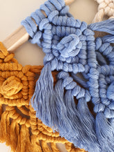 Load image into Gallery viewer, Macrame Feather Trio