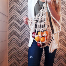 Load image into Gallery viewer, Macrame Market Bag