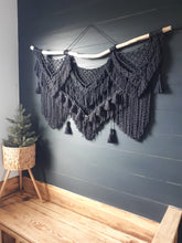 Load image into Gallery viewer, Macrame Wall Hanging - Raven