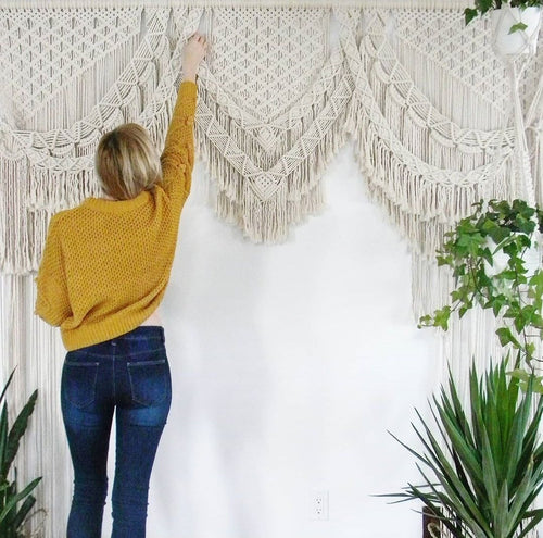 Macrame Backdrop - Phoenix