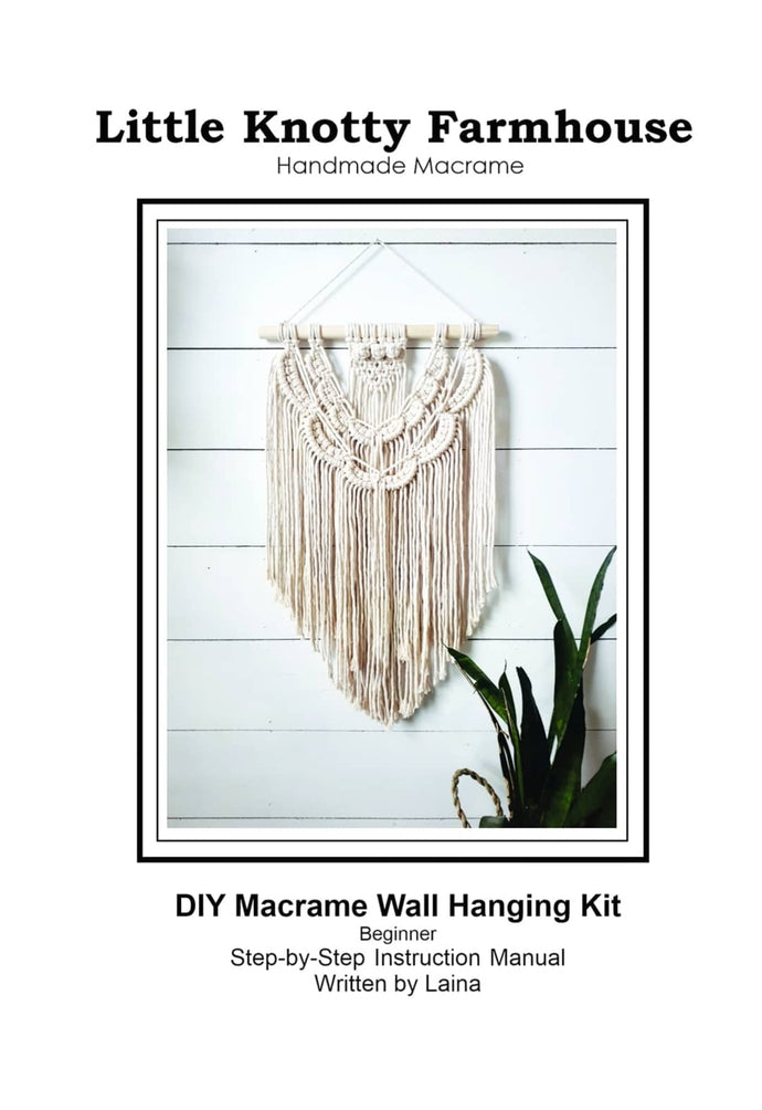 DIY Macrame Wall Hanging Kit - Beginner
