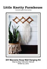 Load image into Gallery viewer, DIY Macrame Hoop Kit