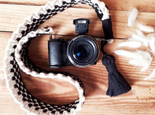 Load image into Gallery viewer, Macrame Camera Strap