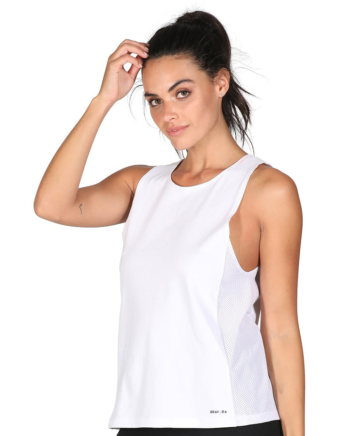 89 Muscle Tee White