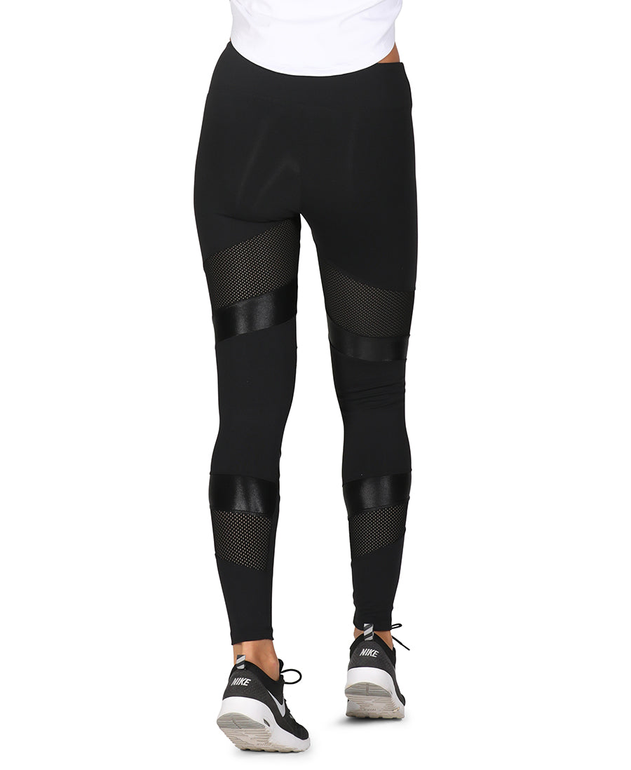Angles Leggings Black