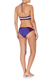 February 06:50 & 17:23 Bikini Set Blue Purple
