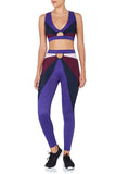 March 17:37 Leggings Blue Purple