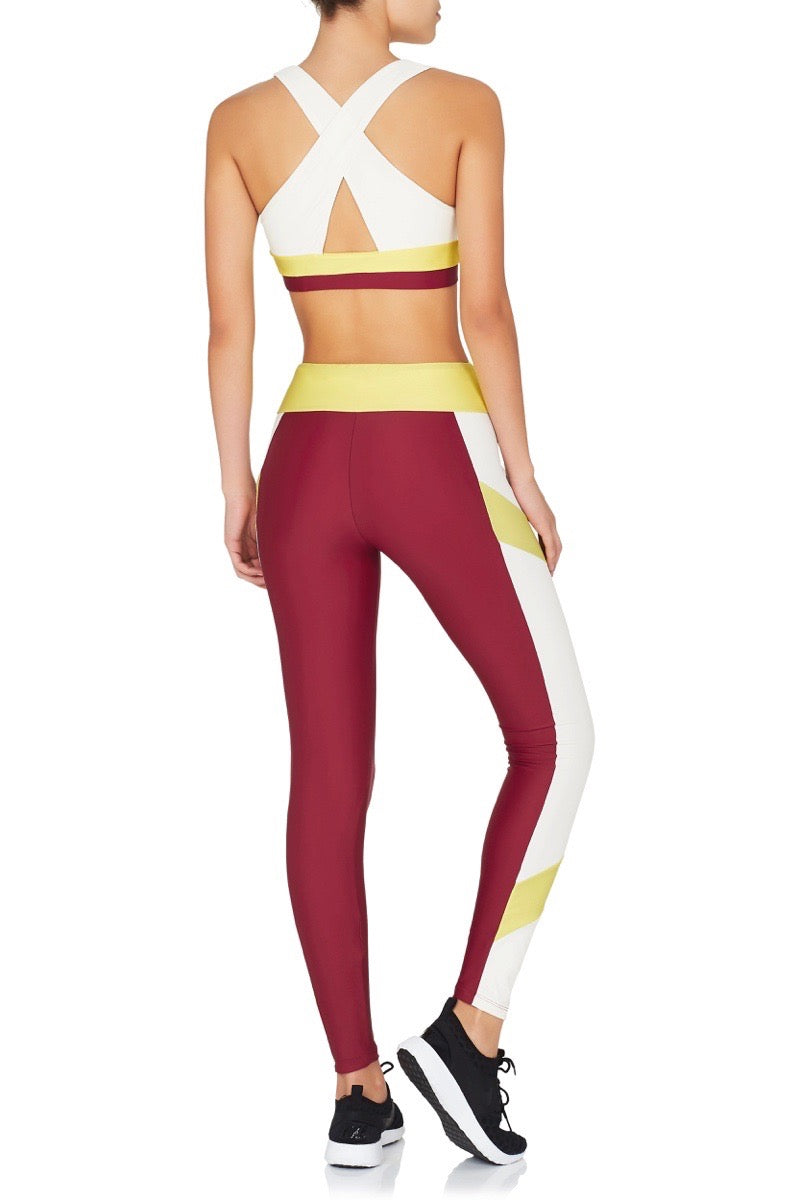 The PCT Leggings Red Yellow