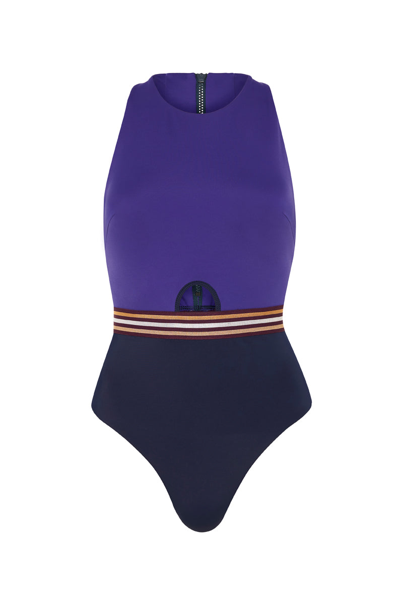 Munich 1972 One Piece Blue Purple