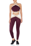 Rome 1960 Leggings Red Ivory