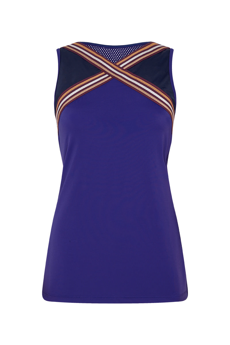London 2012 Top Blue Purple