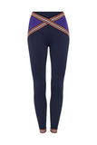 Rome 1960 Leggings Dark Blue Purple