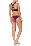May 06:04 & 19:37 Bikini Set Red Orange