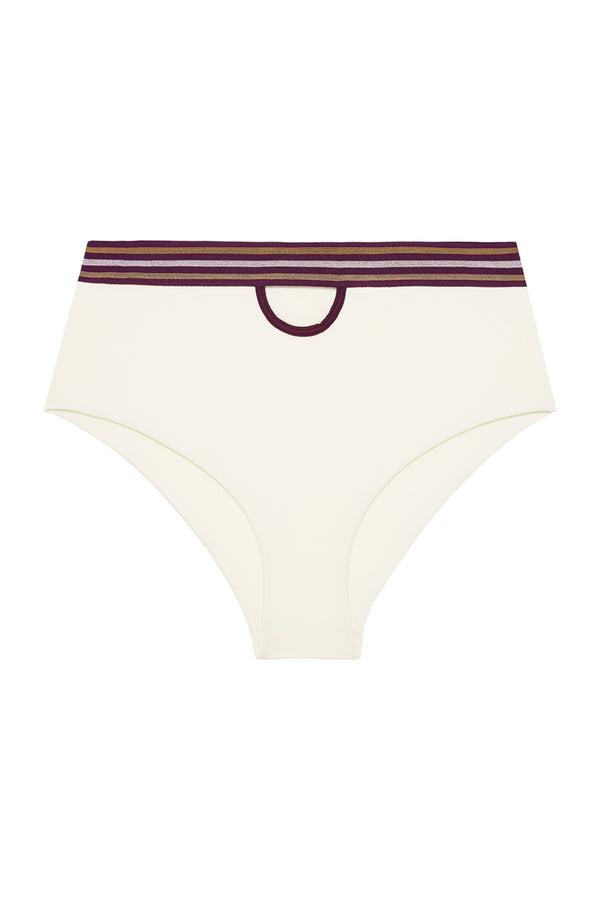 Barcelona 1992 Bikini Bottom Ivory Red