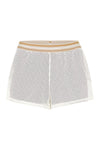 St Louis 1904 Shorts Ivory Red