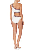 Atlanta One Piece Ivory Red