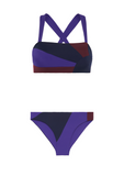 May 06:04 & 19:37 Bikini Set Blue Purple