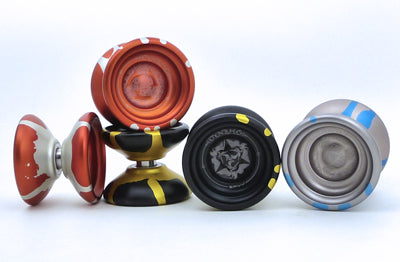 New SPYY Dynamo yoyos on first arrival