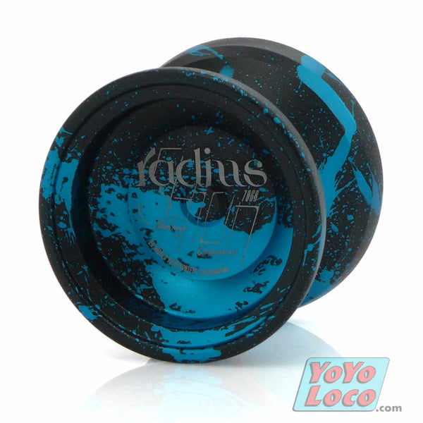 C3yoyodesign Radius 7068 YoYo, Black, Blue acid wash