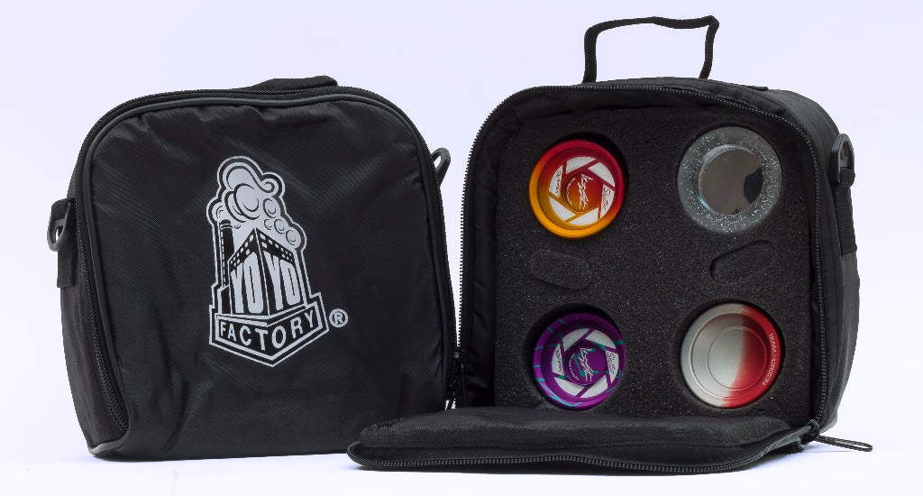 Essentials YoYo Case, Black, by YoYoFactory
