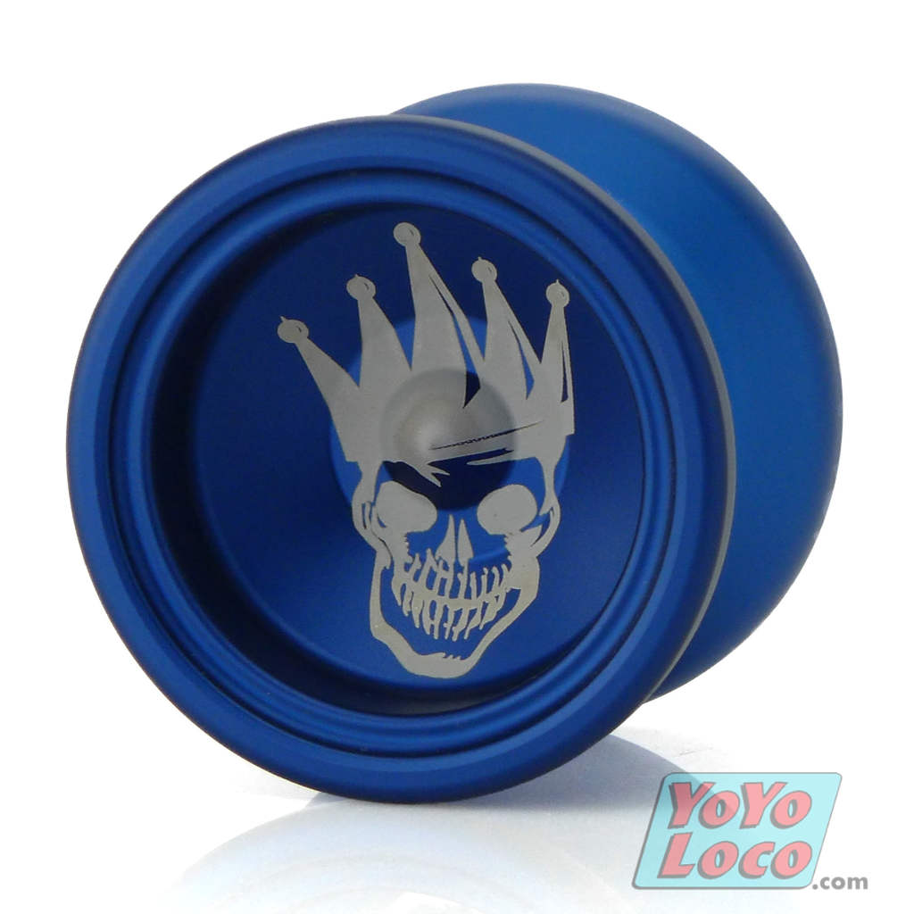 General-Yo Royal 1 YoYo, 2 Tone Blue, Crown Badass