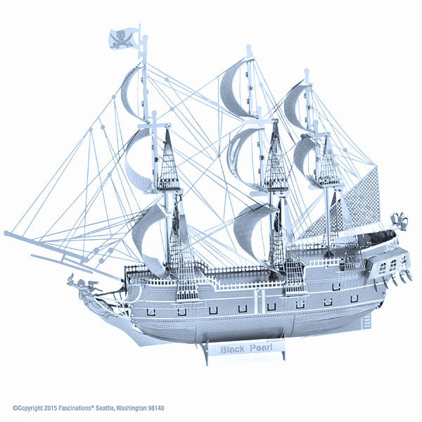 Black Pearl ICONX 3-D Metal Model